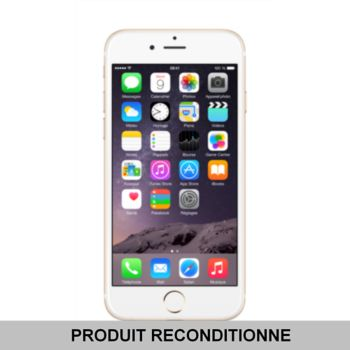 Apple iPhone 6 16 Go Or 				 			 			 			 				reconditionné