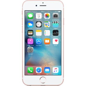Apple iPhone 6s Rose Gold 128Go 				 			 			 			 				reconditionné