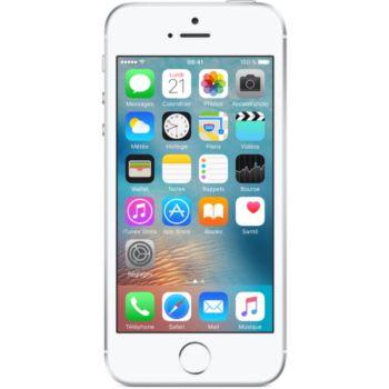 Apple iPhone SE 16Go Argent     reconditionné