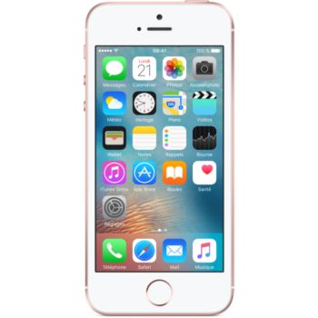 Apple iPhone SE 16Go Or Rose 				 			 			 			 				reconditionné