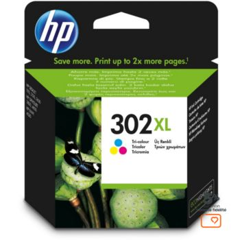 HP N°302 XL 3 couleurs