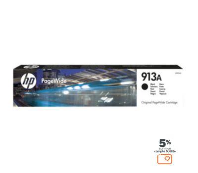 Cartouche d'encre HP N°913A noire