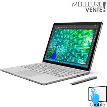 microsoft surface book 256go intel i5 8go reconditionn tat correct ordinateur portable. Black Bedroom Furniture Sets. Home Design Ideas