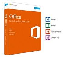 Logiciel de bureautique Microsoft Office Famille et Etudiant 2016