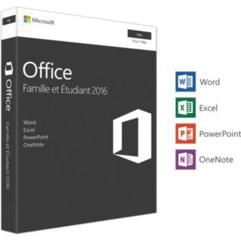 Microsoft Office Mac Famille et Etudiant 2016