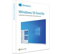 Logiciel de bureautique Microsoft Windows 10 Famille