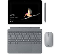Clavier tablette Microsoft Type cover signature Surface GO Platine