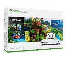 Console Xbox One S Microsoft 1To Minecraft