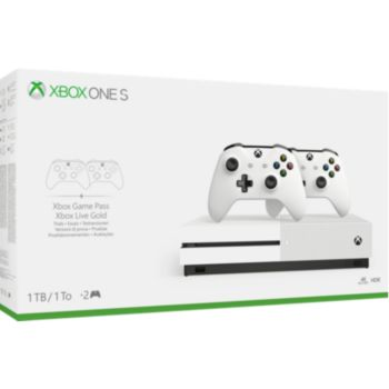 Microsoft Xbox One S 1To + 2ème manette