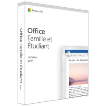 Microsoft Office Famille et Etudiant 2019