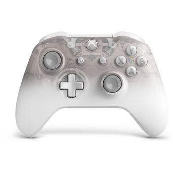 Microsoft Manette sans fil Xbox One Phantom White