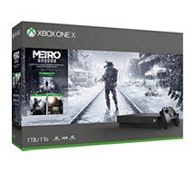Console Xbox One X Microsoft 1To Metro Exodus Saga