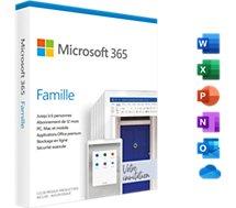 Logiciel de bureautique Microsoft  365 Famille