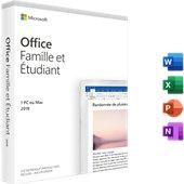 Logiciel de bureautique Microsoft Famille et Etudiant