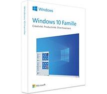Logiciel de bureautique Microsoft  Windows 10 Famille 2019
