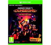 Jeu Xbox One Microsoft  Minecraft dungeons hero edition