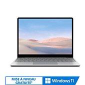 Ordinateur portable Microsoft Laptop Go 12.5 I5 4 64 Platine