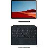 Clavier tablette Microsoft  Clavier+Stylet Surface Pro X Noir
