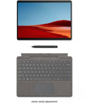 Microsoft Clavier+Stylet Surface Pro X Anthracite