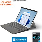 PC Hybride Microsoft Surface Pro 8 i7 16 512 Platine
