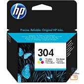 Cartouche d'encre HP N°304 3 couleurs