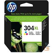 Cartouche d'encre HP 304 XL 3 couleurs