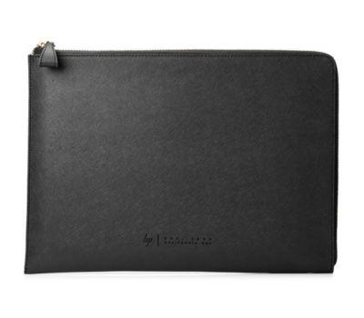 Housse HP 13.3' cuir noir