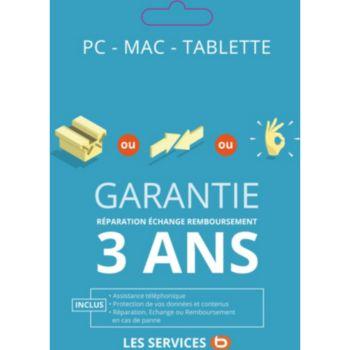 Garantie 3 ans Essb PC Port <350 EUR
