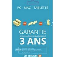 Garantie Gtie Répa 3 ans Ordi Port 951-1300EUR