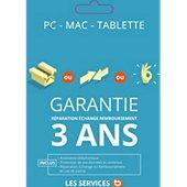 Garantie Gtie Répa 3 ans Ordi Port >1300EUR