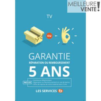 Réparation 5ans TV 701 à 900EUR