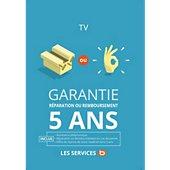 Garantie Réparation 5ans TV 1501-1800EUR
