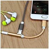 Adaptateur USB Hometech Adaptateur Ecouteur or pour 2 / 2 Pro /