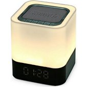 Enceinte Bluetooth Auto Hightech Enceinte  Bluetooth reveil  lampe  Mains
