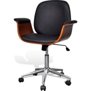 Helloshop26 Fauteuil chaise siège de bureau luxe piv