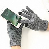 Support tablette Shot Case Gants Homme tactiles Taille M (GRIS)
