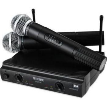 auto hightech microphone sans fil vhf avec r cepteur i. Black Bedroom Furniture Sets. Home Design Ideas