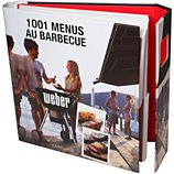 Livre de cuisine Weber 1001 menus au barbecue