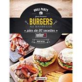 Livre de cuisine Weber Burgers au Barbecue