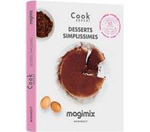 Livre recettes Magimix Livre desserts simplissimes