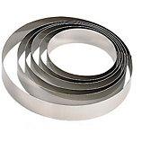 Moule en acier De Buyer  Cercle à entremets inox 16 cm - De Buyer