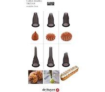 Douille à pâtisserie De Buyer  x 6 tritan 4150.08