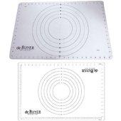 Tapis de cuisson De Buyer silicone translucide 60x40 4937.60