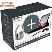 Ordinateur portable Microsoft Pack Surface Pro 7 i5 8 256+accessoires