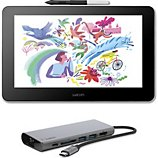 Tablette graphique Wacom  WACOM One + Hub USB-C Belkin