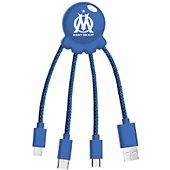 Câble USB Xoopar octopus cable bleu  OM