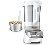 Moulinex soup co lm906110 2l rouge blender chauffant boulanger - Panier vapeur soup and co ...