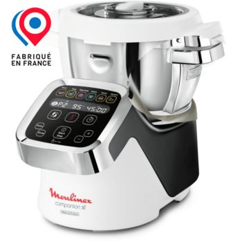 moulinex companion xl silver hf805810 robot cuiseur boulanger. Black Bedroom Furniture Sets. Home Design Ideas