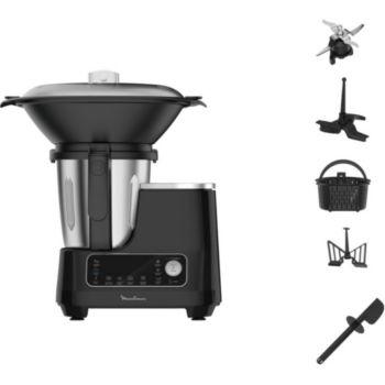 Moulinex Clickchef noir HF456810 + cuiseur vapeur