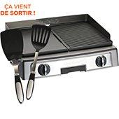 Plancha électrique Cuisinart P1110E + 2 pinces